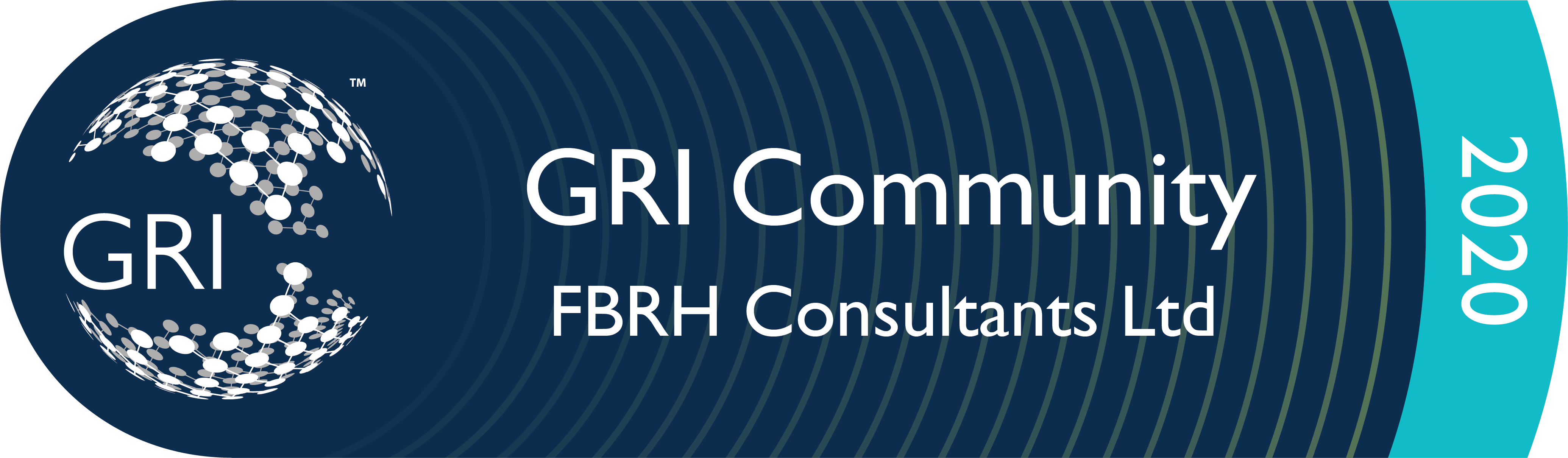 FBRH gri training certified sustainability london uk GRI Gold community Logo