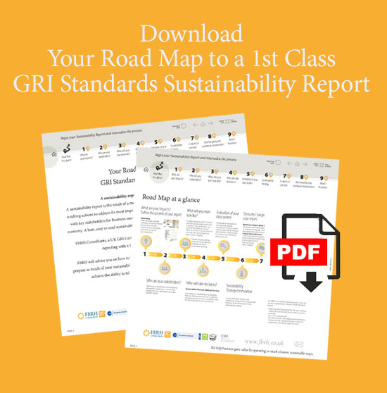 own your sustainability reporting process